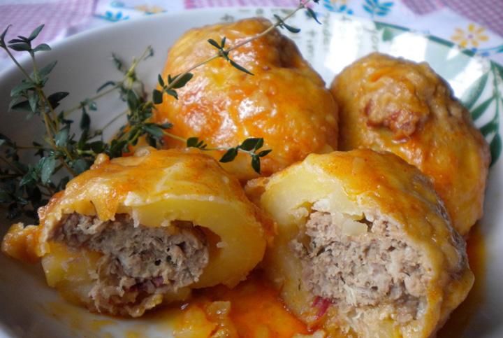 Patatas rellenas de carne | recetas