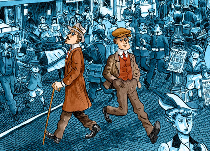 El dublinés- Alfonso Zapico | libros