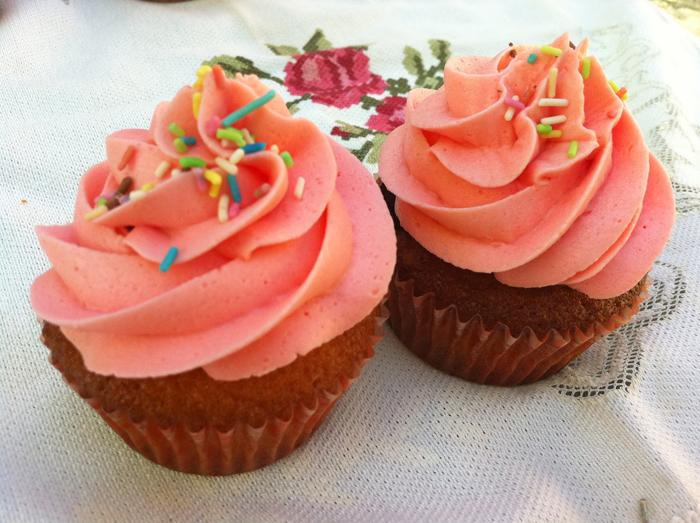 Cupcakes de arándano rojo| recetas