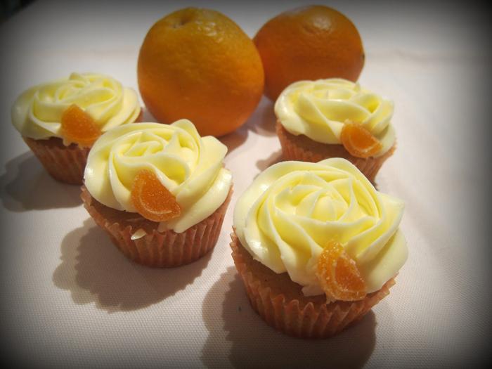 Cupcakes de naranja y canela | recetas