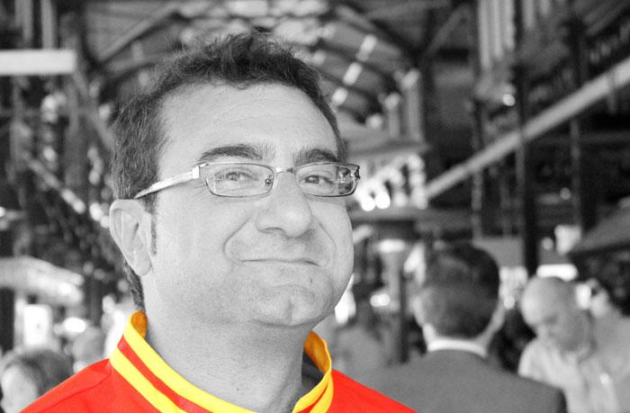 """Sergio Fernández: """"Intentar ser el mejor cocinero del mundo no tiene demasiado sentido"""""""