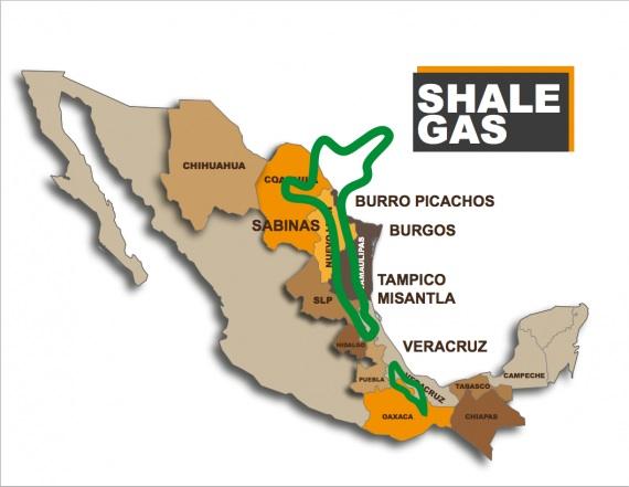Estados de la República que serán afectados por el fracking y las expropiaciones de tierras