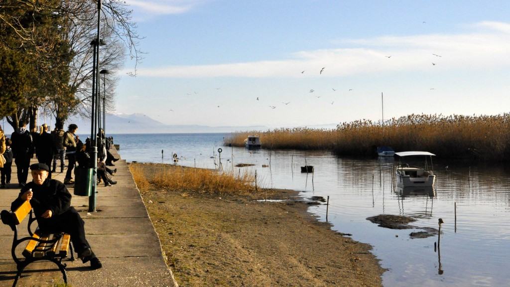 Struga es una de las ciudades en la Republica de Macedonia con un mayor número de albaneses /Sheila Alcolea