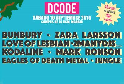 DCode el festival de los retos con Zara Larsson