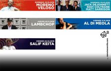 Repóker de ases en BOX: Veloso, LAMBCHOP, DeJohnette, Di Meola, Keïta
