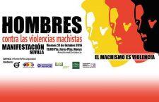 """Actos """"Hombres y ViolenciaS MachistaS"""" Sevilla 20/22 de octubre de 2016"""