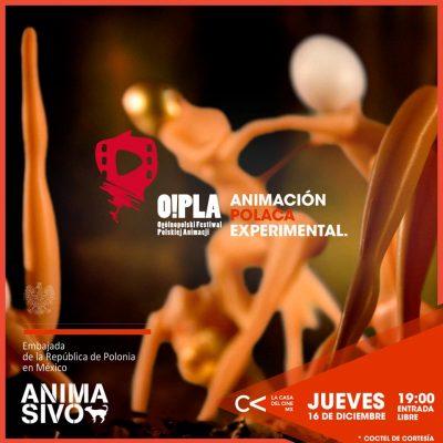Animación sin fronteras O!PLA México. Muestra Cine Experimental de Polonia