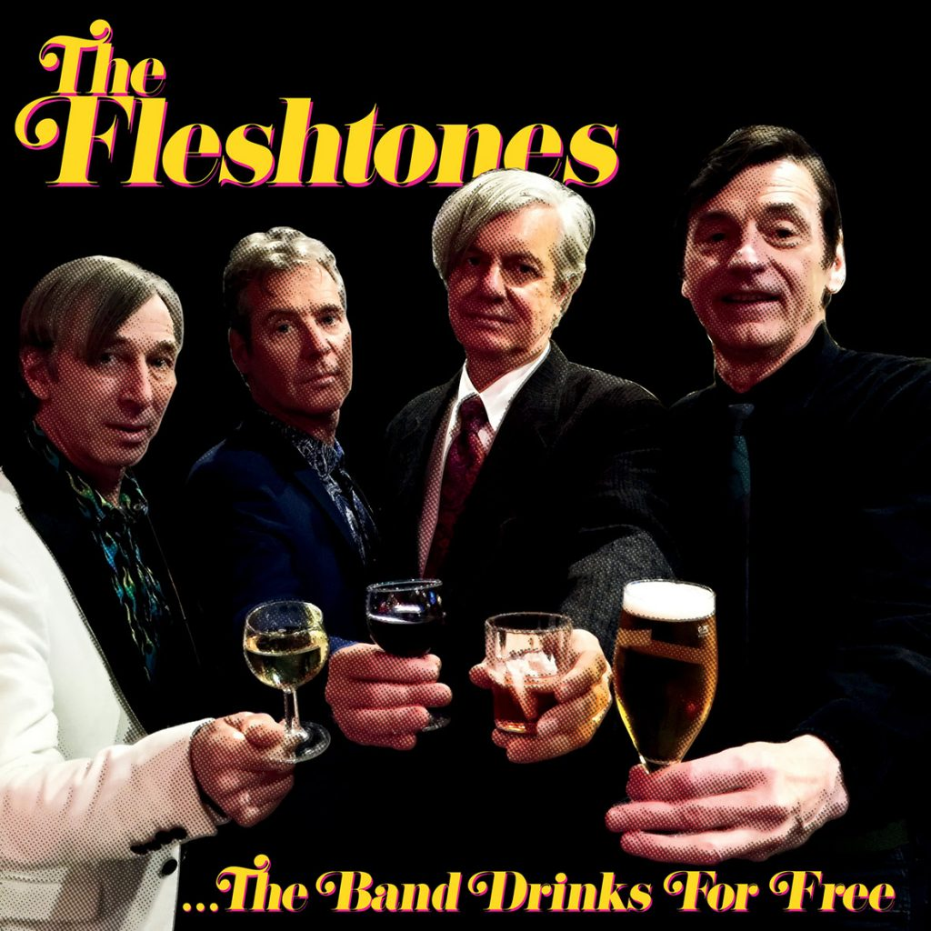 The Fleshtones en su Gira 40 aniversario, The band drinks for free