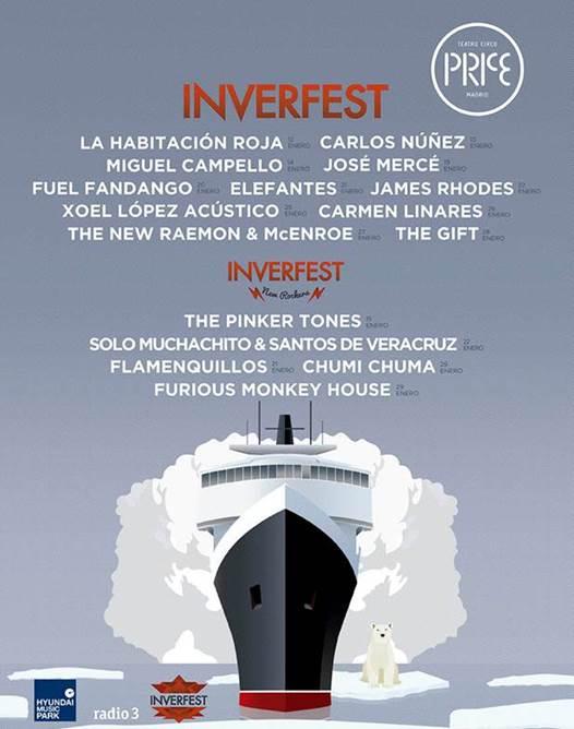 Inverfest llena de música el Teatro Circo Price con The Gift o James Rhodes