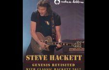 Steve Hackett, el ex guitarrista de Genesis, en Las Noches del Jardín Botánico