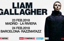 Liam Gallagher llegará en febrero a Madrid y Barcelona