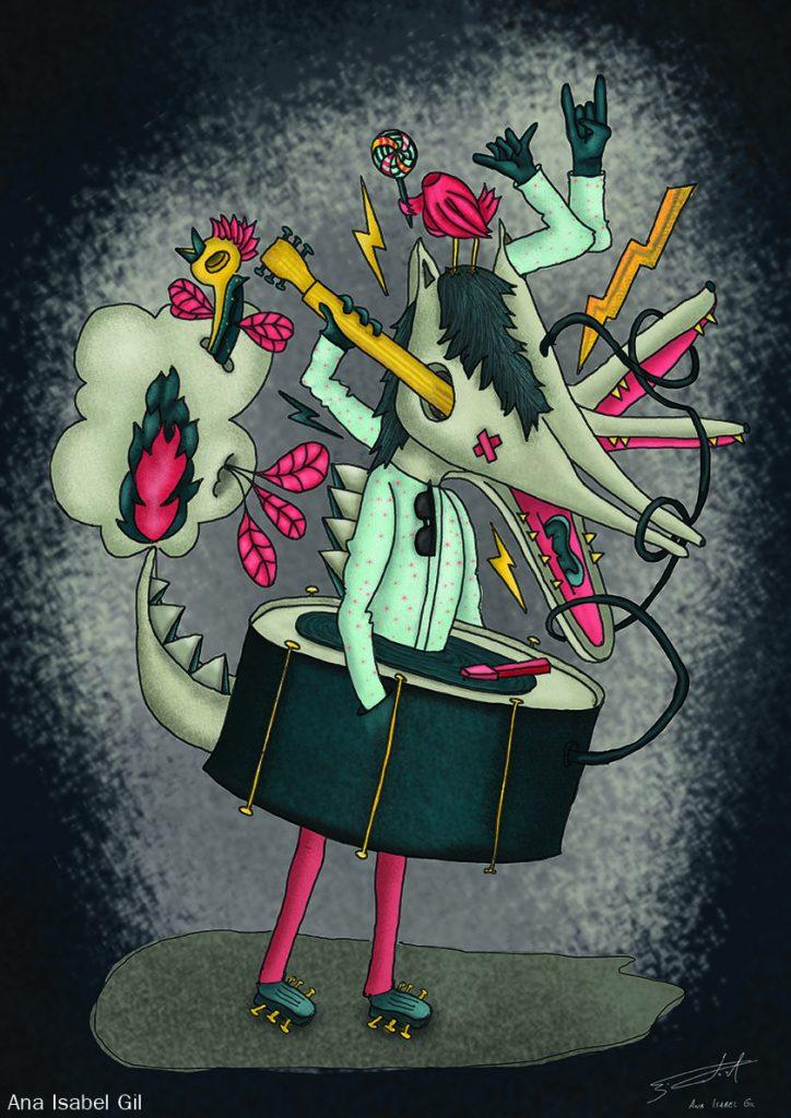Management del dolore post operatorio:Ilustración de Ana Isabel Gil Peña