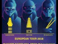 The Stickmen, el trío de rock progresivo, dará tres conciertos en España