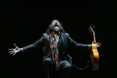 """representación del espectáculo """"Alma Vieja"""", en el Teatro Albéniz. Horizontal."""