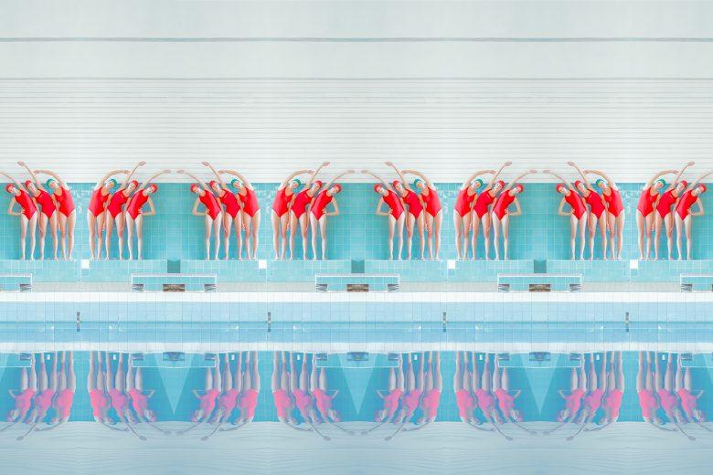 Swimming Pool exposición online de la fotógrafa Mária Švarbová en Galería BAT