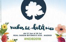 LAS NOCHES DEL BOTÁNICO 2018