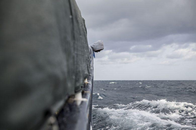 Mediterráneo: una gran fosa común, exposición fotográfica de Olmo Calvo ONG Proactiva Open Arms