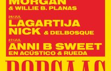 POP CAAC julio con Triángulo de Amor Bizarro, Morgan, Lagartija Nick y Anni B Sweet