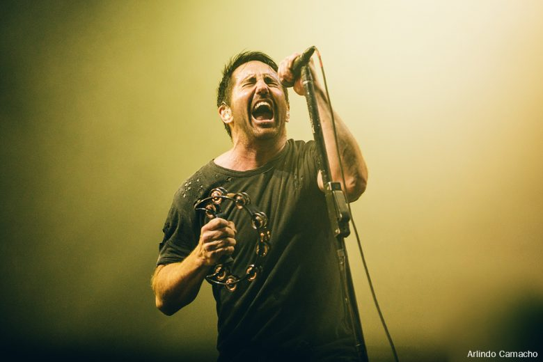 Nine Inch Nails no Palco NOS / Nine Inch Nails performing on NOS Stage