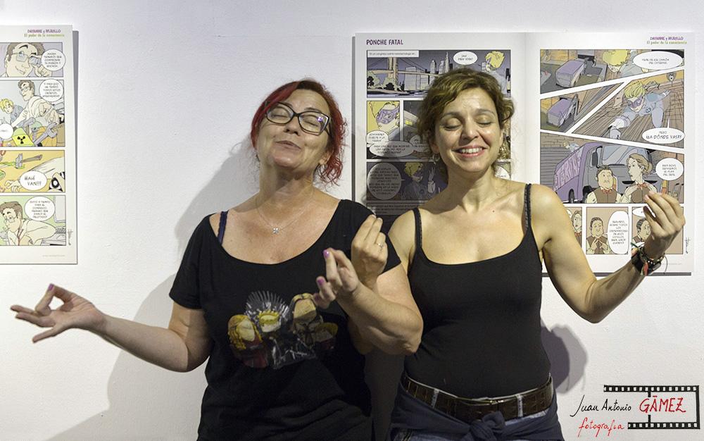 Clara Grima y Raquel Gu. Foto: Juan Antonio Gamez