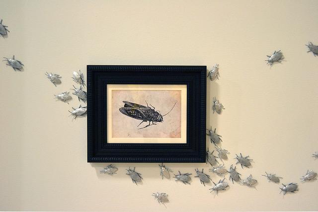 El Velo Pintado exposición de Paula Noya en galería 13 EspacioArte