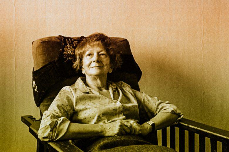 Wisława Szymborska, Kraków, 1984; photograph by Joanna Helander