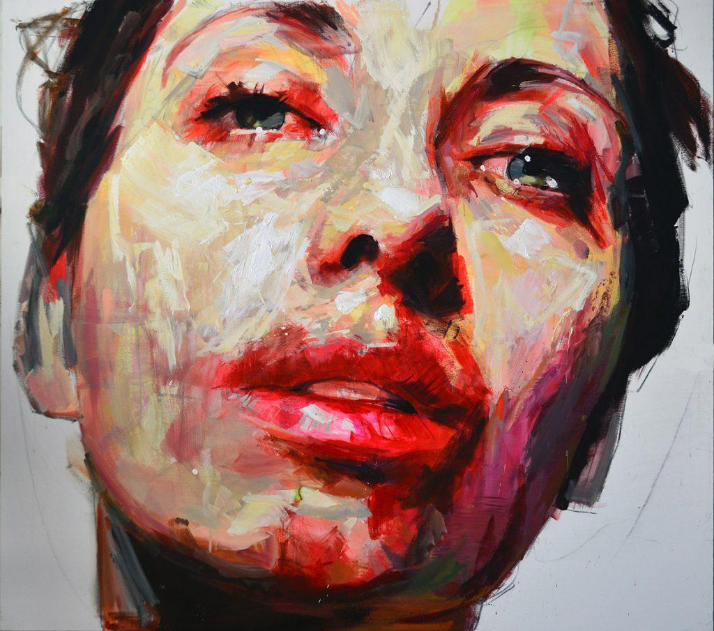 Sin título (VI), 2019 Acrílico sobre tela 170 x 190 cm