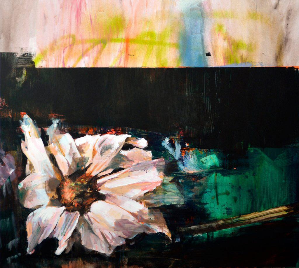 Vanitas 011, 2019 Acrílico sobre tela 116 x 130 cm