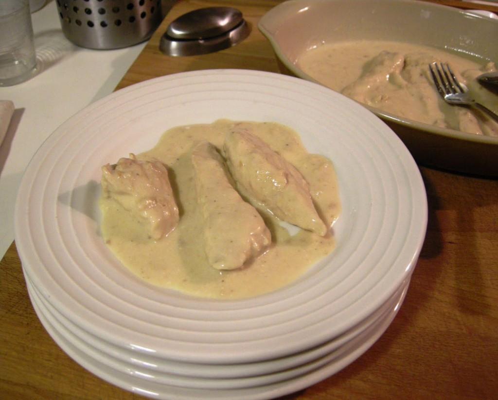 Pollo en salsa de yogurt griego | recetas