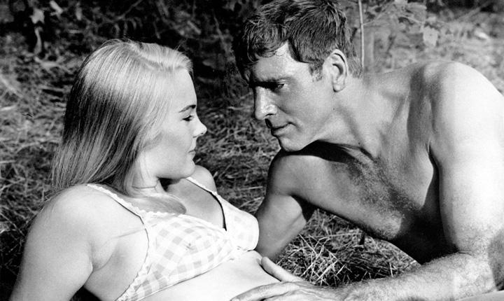 En la piscina con Burt Lancaster | cine