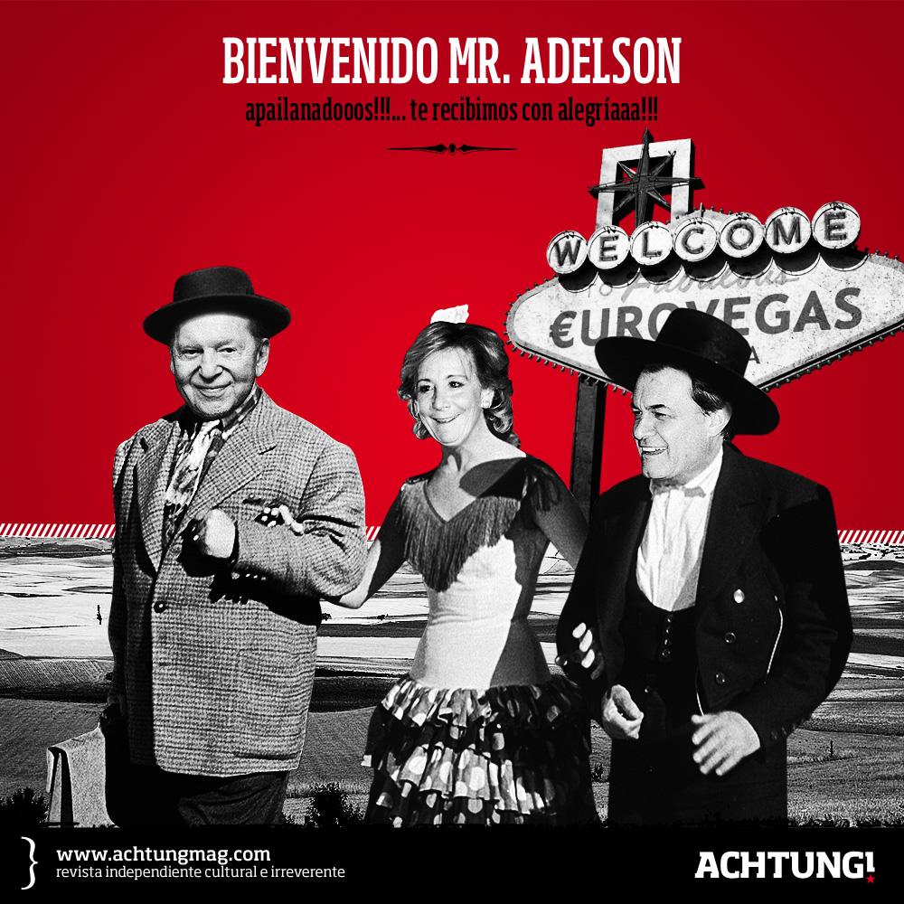 Bienvenido Mr. Adelson