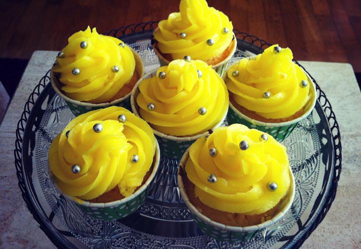 Lemon Curd Cupcakes | recetas