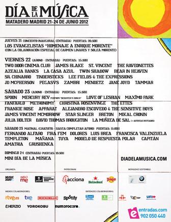 Día de la Música 2012 | festivales