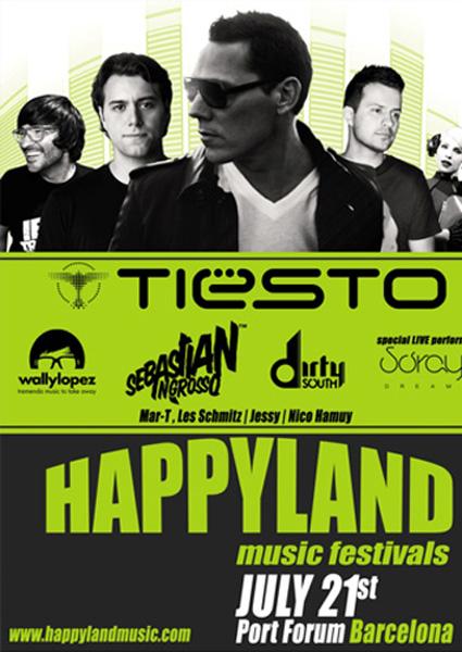 Happyland Music festival | festivales