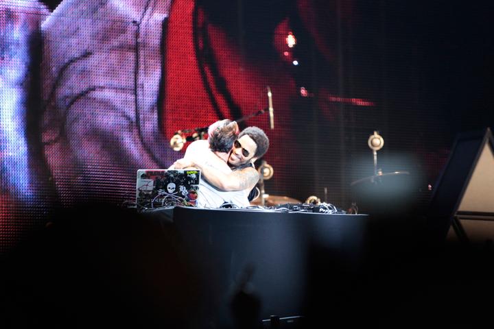 Lenny Kravitz cierra a lo grande el Bacardí Ibiza 123 | festivales