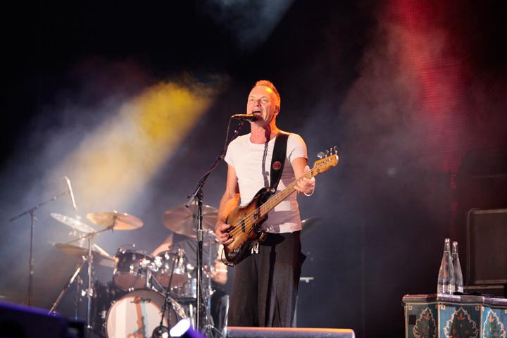 Sting y Guetta fusionan rock y electrónica en el Bacardí Ibiza 123 | festivales