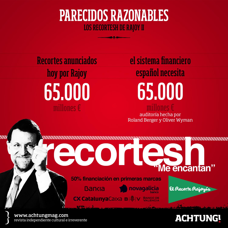 Recortes Rajoy II {parecidos razonables}