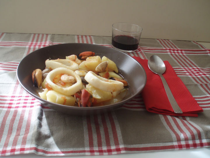 Patatas marineras | recetas