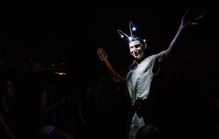 Albert Pla durante su actuación en Nocturama 2012