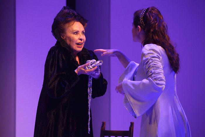 Escena de La Celestina, con Gema Cuervo