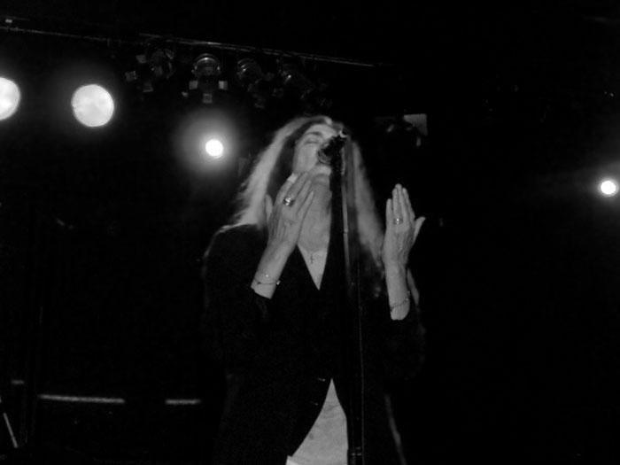 La poesía contestataria de Patti Smith