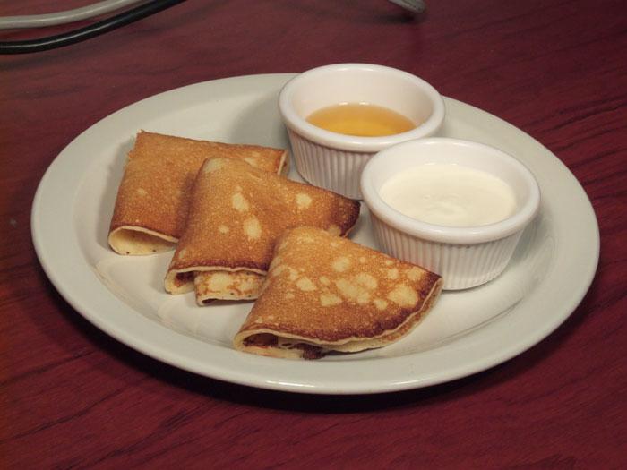 Pancakes, una comida típica del carnaval en Nueva Orleans