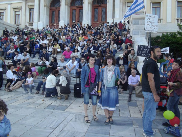"""María Durán, una española en Grecia: """"Amanecer Dorado tiene éxito porque la educación griega es muy nacionalista""""."""