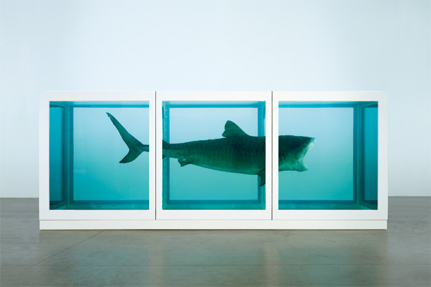 The Physical Impossibility of Death in the Mind of Someone Living (Damien Hirst)