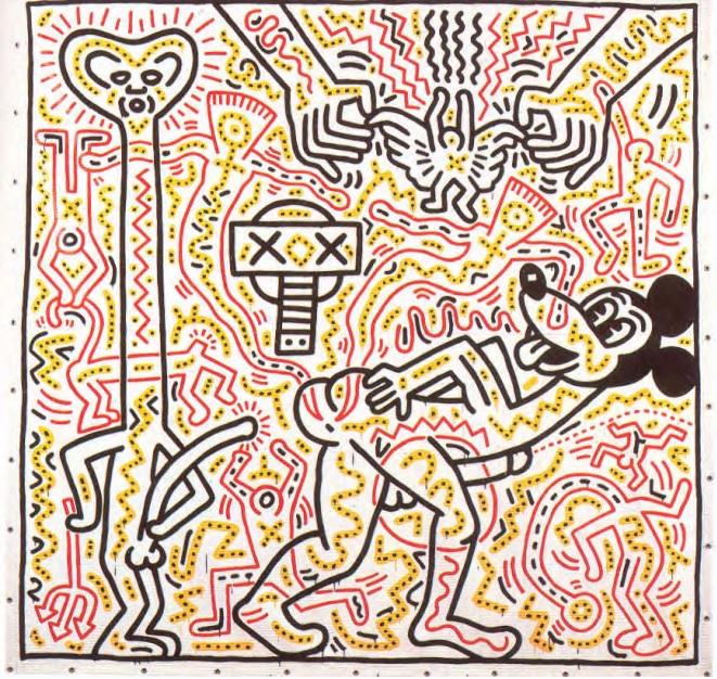 Keith Haring ha sido uno de los artistas más