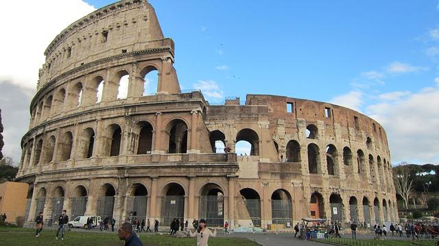 El Coliseum de Roma, símbolo por excelencia de Roma