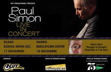 Paul Simon, gira española tras más de 25 años sin visitarnos