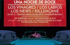 Noche de rock en POP CAAC con Los Labios, Los Vinagres, Los News y KillDaCane
