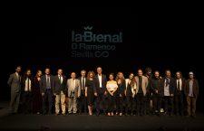 Presentación de la XX Bienal de Flamenco en Madrid con Rocío Márquez y Fahmi Alqhai
