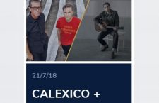 DEPEDRO & CALEXICO en Noches del Botánico 2018